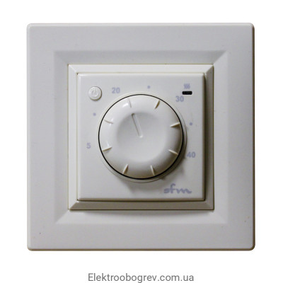 Терморегулятор для теплого пола VEGA 030, белый